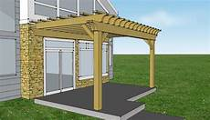 plans for pergola attached to house lovely simple pergola attached to house garden landscape