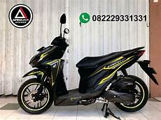 Skotlet Motor Vario 150 by Modifikasi Vario 150 Cutting Sticker Satu Sticker