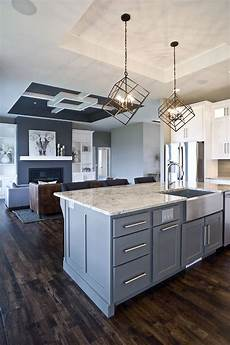 Grey Kitchen Base Cabinets by Custom Paint Color Gray Island Grey Cabinetry Custom