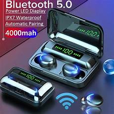 Bluetooth Earphone Hifi Cvc8 Noise Reduction by New 9d Hifi Bluetooth 5 0 Cvc8 0 Noise Reduction Stereo