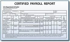 certified payroll reporting requirements for construction