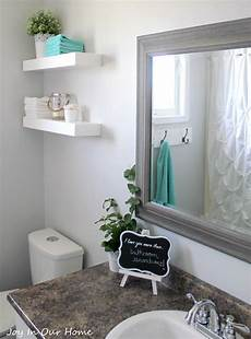 Deco Bathroom Ideas Decorating by Our Bathroom Makeover Product Source In Our Home