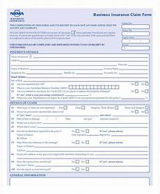 general insurance application form free 11 business insurance forms in pdf ms word