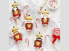 nutcracker peppermint red velvet cake pops_image