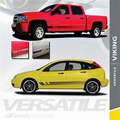VIKING  Universal Fade Style Vinyl Graphics Rocker Panel