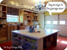garage craft room ideas remodelaholic crafting studio reveal