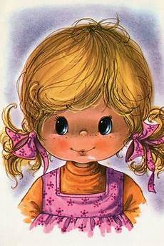 tinkerbell malvorlagen mod vintage 70s postcard of a big eyed products i