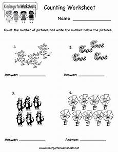 printable kindergarten worksheets counting worksheet free kindergarten math w counting