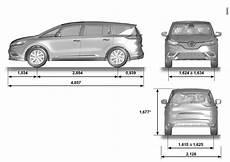 E Guide Renault Nouvel Espace Dimensions En M 200 Tres