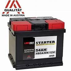 autobatterie 50ah 12v test 187 g 252 nstiges auto motorrad und