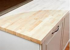 arbeitsplatte k 252 chenarbeitsplatte massivholz ahorn kgz
