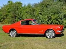 all car manuals free 1965 ford mustang free book repair manuals buy used 1965 ford mustang 2 2 fastback 289 a code manual bright red with black interior in
