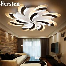 horsten new modern living room led ceiling light acrylic