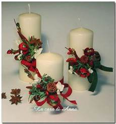come decorare candele natale handmade come decorare le candele guidacatering it