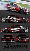 Richard Andersen Wrap Design  Car
