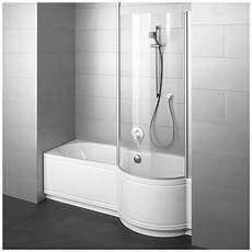badewanne mit duschbereich bette cora comfort nischenwanne 170 x 90 x 42 cm duschzone