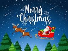 merry christmas santa sleigh download free vectors clipart graphics vector art