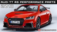 2018 audi tt rs performance parts review rendered price