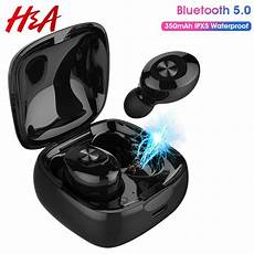 Xg12 Wireless Bluetooth Earphone Hifi Stereo by H A Xg12 Tws Bluetooth 5 0 Earphone Stereo Wireless Earbus