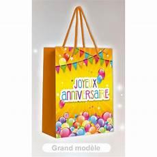 cadeau anniversaire sac cadeau joyeux anniversaire 40 x 32cm