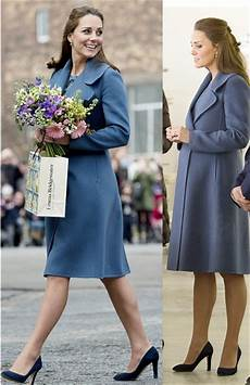Kate Middleton Looks Great In A Blue Coat Yet