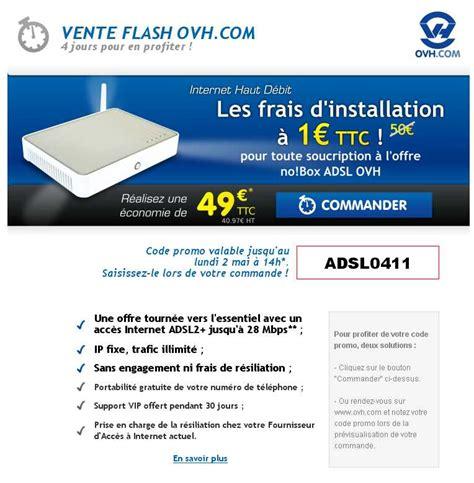 Ovh France: 1 Euro L'acces Adsl Jusqu'en Decembre Avec Ovh