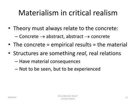 What Is Critical Realism