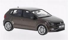 Volkswagen Polo 5 Turig Facelift Metallic Braun 2014 Herpa