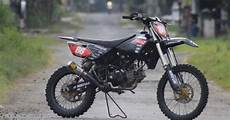 Jupiter Z Trail by Gambar Modifikasi Trail Gtx Jupiter Z 130cc Akbar Taufan