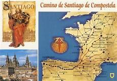 camino de santiago compostela a postcard a day camino de santiago de compostela
