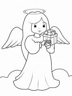 Malvorlagen Engel Gratis Ausmalbilder Weihnachten Engel