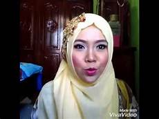 Tutorial Jilbab Pashmina Simple Modis Buat Acara Pesta