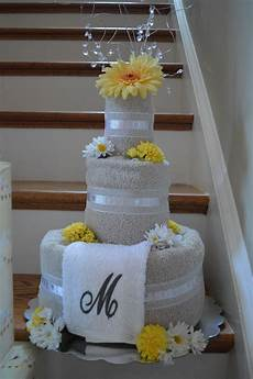wedding towel cake my craft projects pinterest wedding towel cakes towel cakes and towels