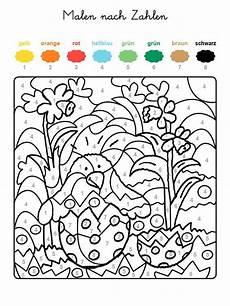 Ausmalbilder Zahlen Und Farben Ausmalbild Malen Nach Zahlen Osterk 252 Ken Ausmalen