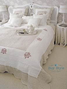 copriletto cotone copriletto matrimoniale trapuntato in cotone e lino