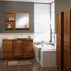 meuble de salle de bains wellington marron 490 l