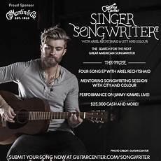Guitar Center S Singer Songwriter 5 Contest