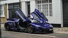 mclaren p1 purple ride and reactions purple mclaren p1 in race mode