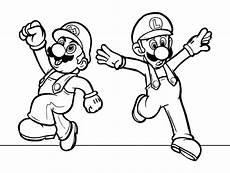 Gratis Malvorlagen Mario Und Luigi Mario Und Luigi Ausmalbilder