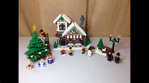 Lego Winter Village Toy Shop Set 10199 Full Review