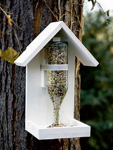 vogelfutterhaus einfach mal selber bauen knauber ideen