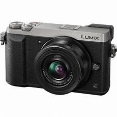 appareil photo hybride lumix gx80 noir objectif 12