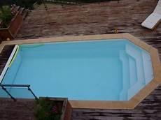 piscine hors sol coque piscine coque avec volet fond plat hors sol alliance