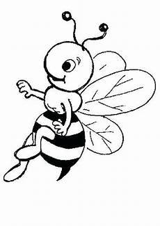 Ausmalbild Biene Einfach Ausmalbilder Biene 28 Ausmalbilder Tiere