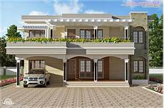 modern kerala house plans modern flat roof villa in 2900 sq feet kerala home