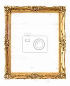 goldener bilderrahmen goldener bilderrahmen im hochformat isoliert mit