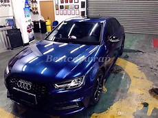 2019 midnight blue gloss metallic vinyl wrap for whole car wrap covering with air bubble free