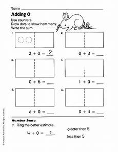 addition worksheets with zero 9669 adding zero worksheet for pre k 1st grade lesson planet