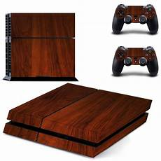 shop ps4 console aliexpress buy wood grain ps4 skin decal sticker for