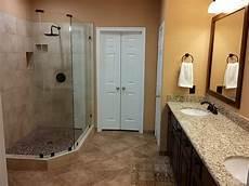 Bathroom Upgrade Ideas Master Bathroom Upgrade To Walk In Shower